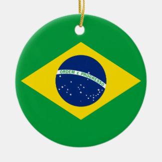 La bandera del Brasil Adorno De Reyes