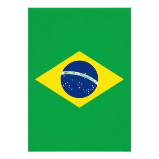La bandera del Brasil Comunicado