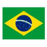 La bandera del Brasil Postal