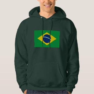 La bandera del Brasil Sudadera
