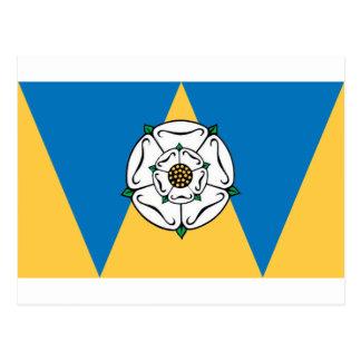 La bandera del condado de West Yorkshire Postal