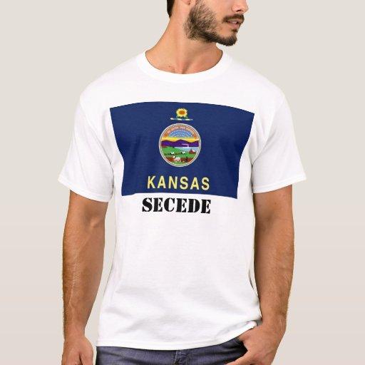 La bandera del estado de Kansas, SECEDE Playera