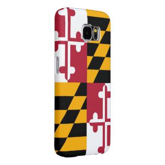 La bandera del estado de Maryland crea para Fundas Samsung Galaxy S6