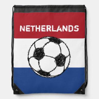 La bandera del fútbol holandés del | mochilas