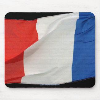La bandera del mundo patriótico de Francia señala Alfombrillas De Raton