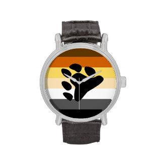 La BANDERA del ORGULLO del OSO RAYA DESIGN png Reloj De Mano