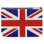 La bandera del Reino Unido enciende las cajas