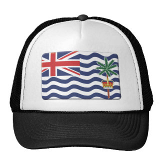 La bandera del territorio del Océano Índico britán Gorras De Camionero