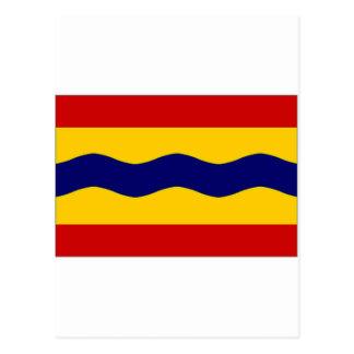 La bandera holandesa de Overijssel Postal
