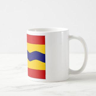 La bandera holandesa de Overijssel Taza De Café