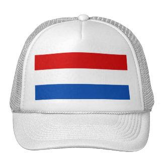La bandera holandesa gorras