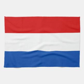 La bandera holandesa toallas