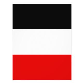 La bandera imperial alemana más barata tarjeta publicitaria