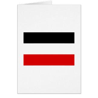 La bandera imperial alemana más barata tarjeta