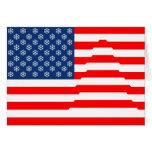 La bandera inspiró la tarjeta de las vacaciones de