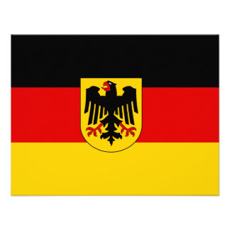 La bandera más barata del estado alemán invitaciones personales