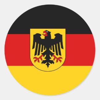 La bandera más barata del estado alemán pegatinas