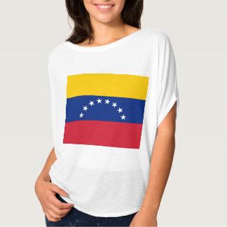 La bandera nacional Venezualan de la bandera de Remeras