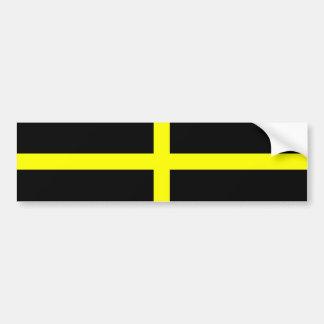 La bandera País de Gales Galés de St David Pegatina De Parachoque