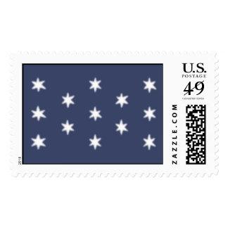 La bandera personal de George Washington Sellos Postales