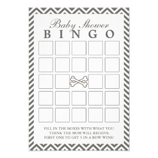 La bandera pirata Chevron raya tarjetas del bingo