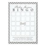 """La bandera pirata Chevron raya tarjetas del bingo Invitación 3.5"""" X 5"""""""