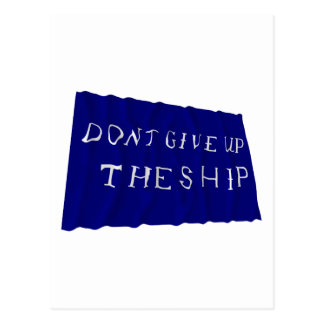 La bandera que agita de Perry del comodoro Tarjeta Postal