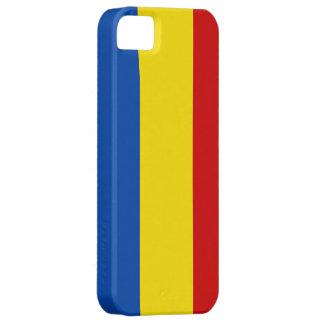 La bandera rumana iPhone 5 Case-Mate protectores