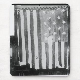 La bandera Spangled estrella original de la estrel Alfombrilla De Ratón
