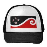 La bandera verdadera de Nueva Zelanda Gorros Bordados