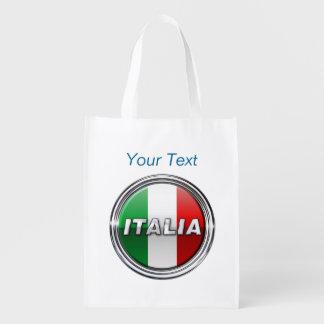 La Bandiera - la bandera italiana Bolsas De La Compra