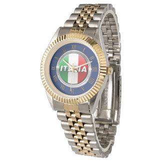 La Bandiera - la bandera italiana Reloj De Mano