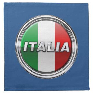 La Bandiera - la bandera italiana Servilleta