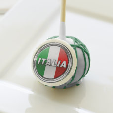 La Bandiera - The Italian Flag Cake Pops