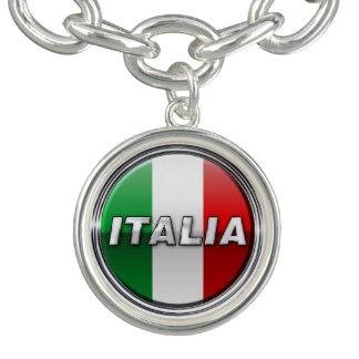 La Bandiera - The Italian Flag Charm Bracelets