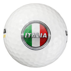 La Bandiera - The Italian Flag Golf Balls