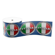 La Bandiera - The Italian Flag Grosgrain Ribbon
