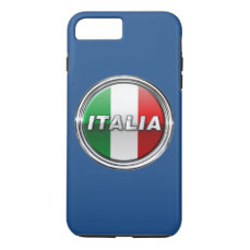 La Bandiera - The Italian Flag iPhone 7 Plus Case