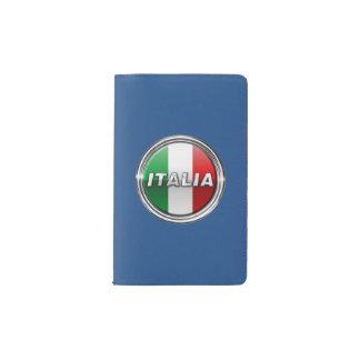 La Bandiera - The Italian Flag Pocket Moleskine Notebook