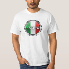 La Bandiera - The Italian Flag T-Shirt