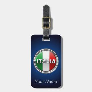 La Bandiera - The Italian Flag Tag For Luggage