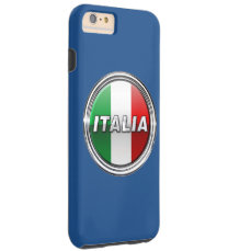 La Bandiera - The Italian Flag Tough iPhone 6 Plus Case