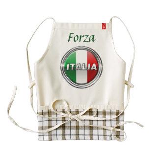 La Bandiera - The Italian Flag Zazzle HEART Apron