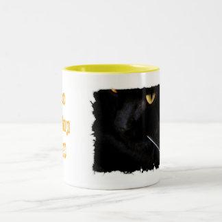 La barba blanca taza de café