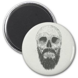 La barba no es muerta imán redondo 5 cm