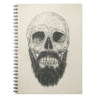La barba no es muerta spiral notebooks
