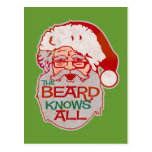 la barba sabe todos postal