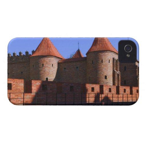 La barbacana, Varsovia, Polonia iPhone 4 Cobertura