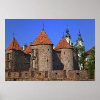 La barbacana y la iglesia de Paulina, Varsovia, Impresiones