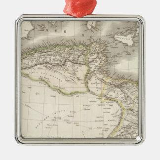 La Barbarie - North Africa Metal Ornament